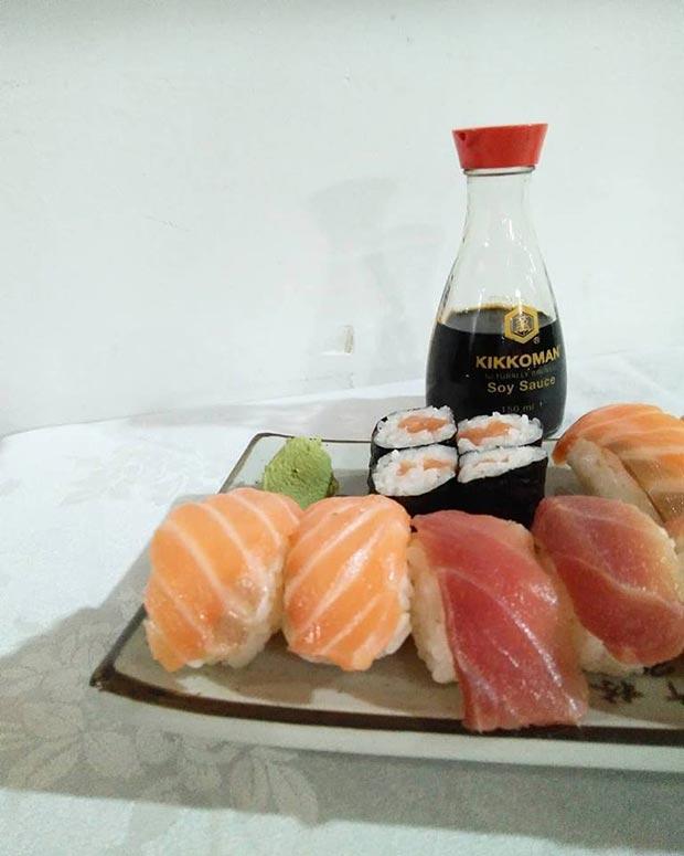 Sushi en el Restaurante Japonés Hayaci