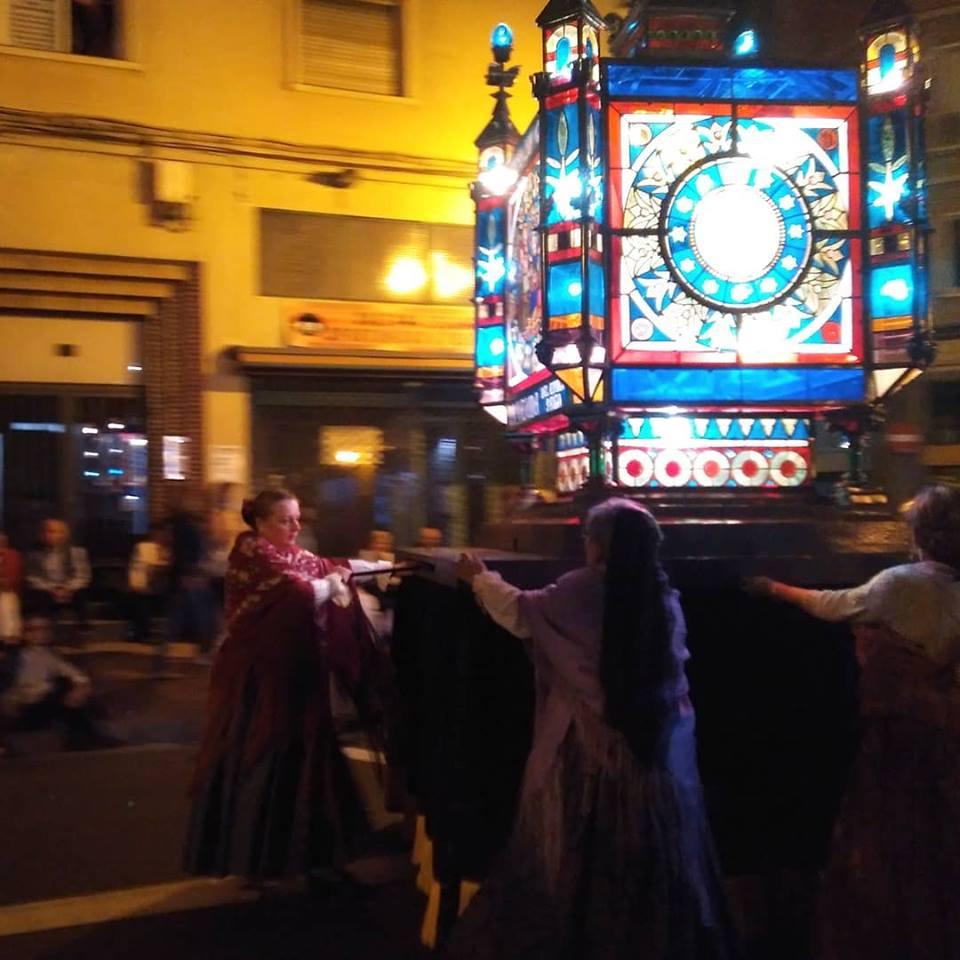 Rosario de Cristal en las Fiestas del Pilar