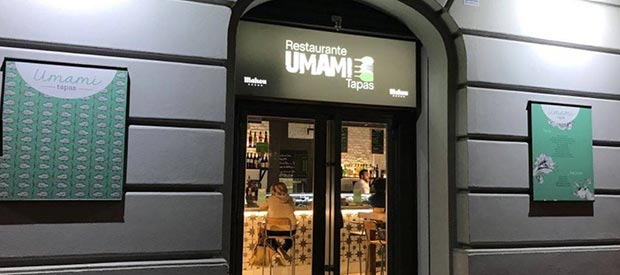 Fachada del Umami Tapas Restaurante