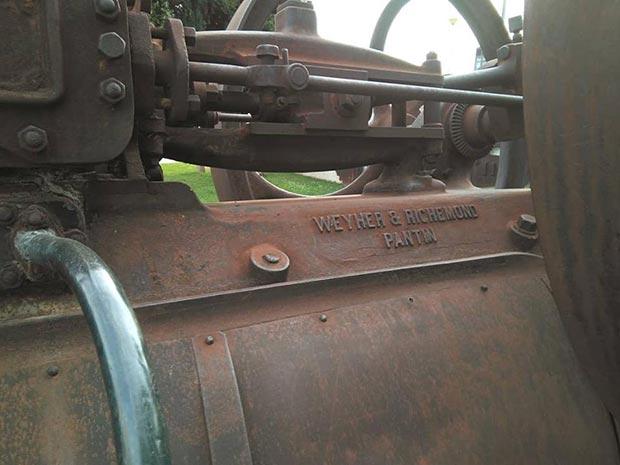Una de las primeras locomotoras que rodó en suelo español