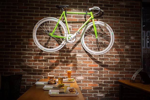 bicicleta vintage the good burger