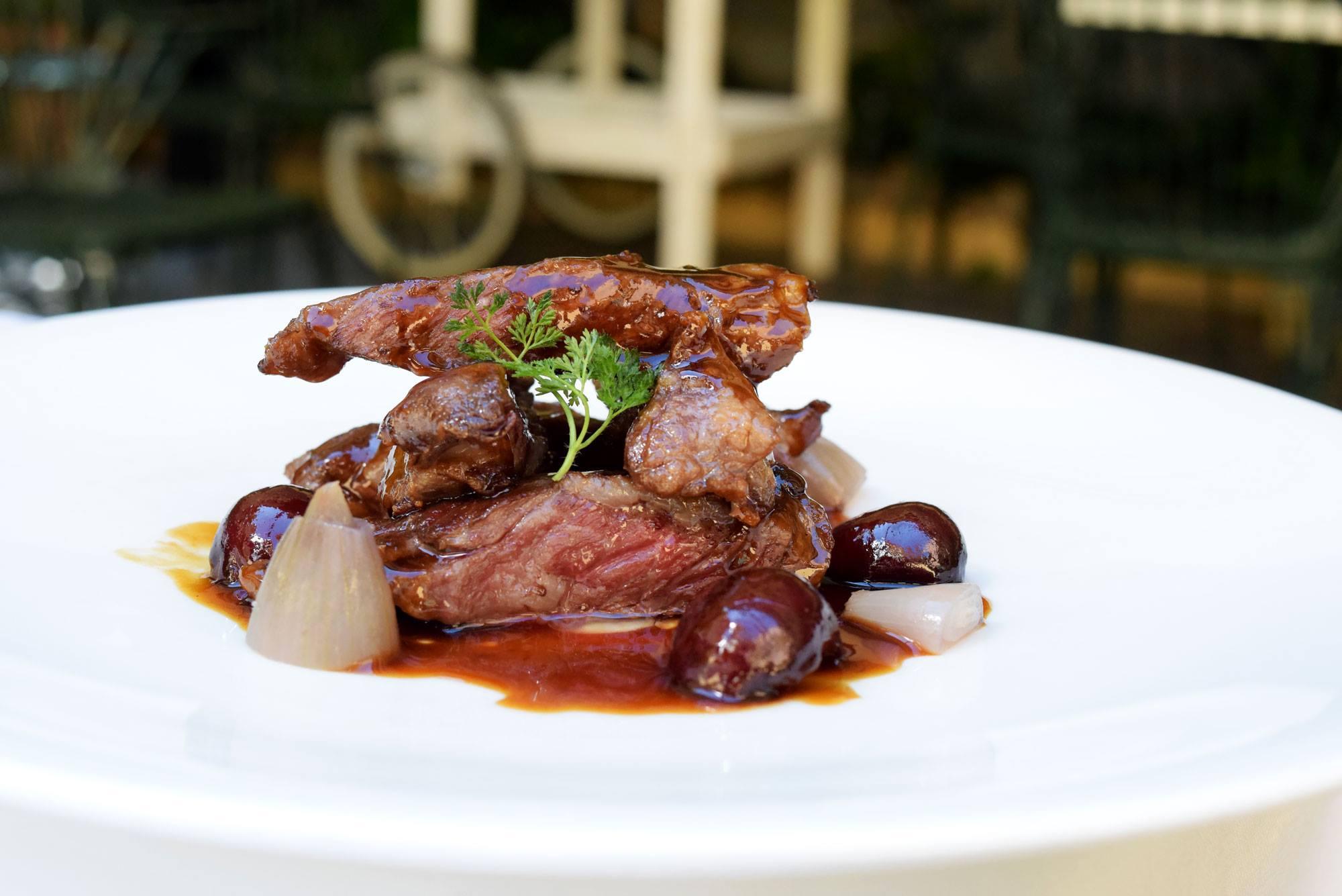 plato del Restaurante El Chalet