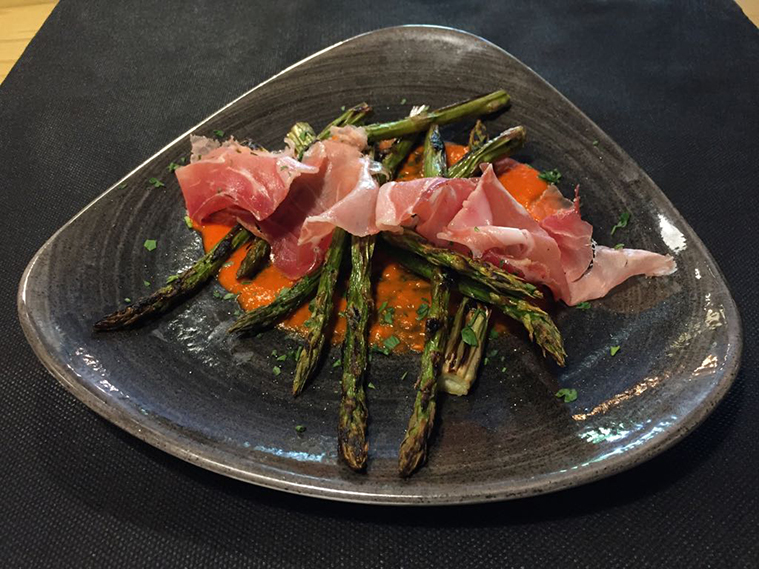 Plato del Restaurante Ayara