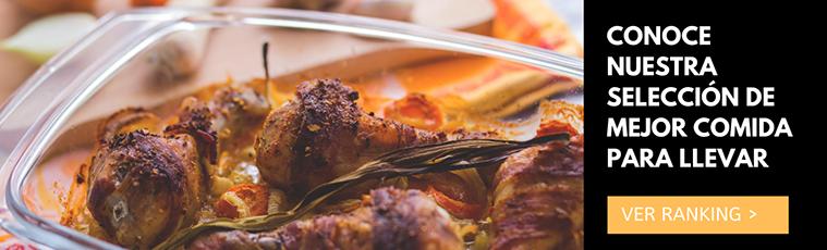 ranking d ela mejor comida para llevar de zaragoza