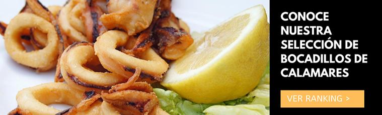 ranking de mejores bocadillos de calamares en zaragoza