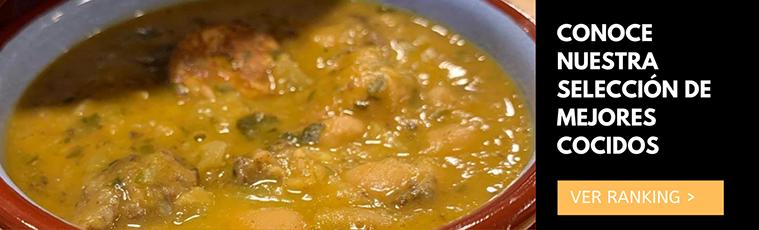 ranking de mejores cocidos de zaragoza