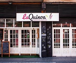 restaurante vegetariano la quinoa zaragoza