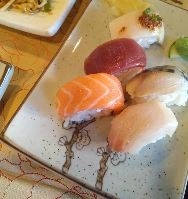 sushi restaurante sakura calle luis vives zaragoza