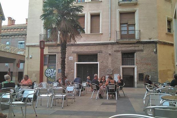 terraza de verano del cafe odeon
