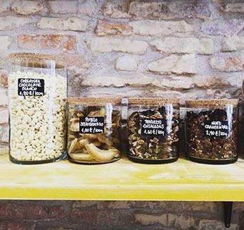 De Tarros tienda de alimentacion saludable calle torrenueva