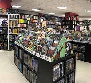 Tienda en Zaragoza Mil Comics