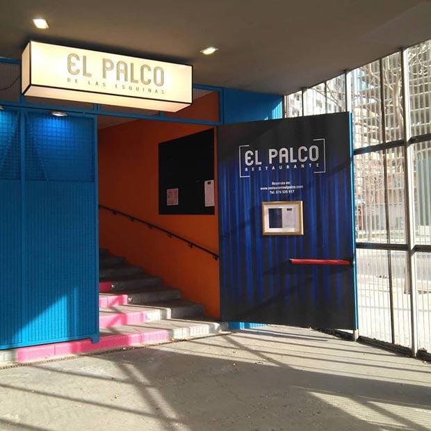 entrada del restaurante el palco