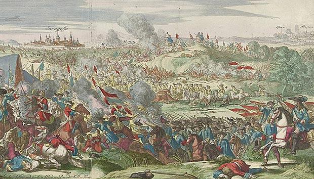 La Batalla de Zaragoza de 1710