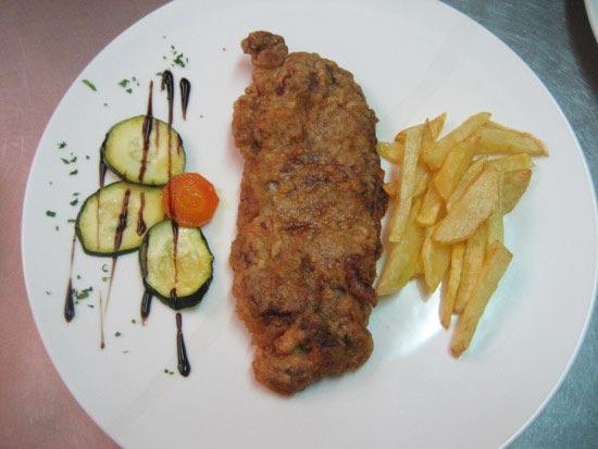 Restaurante El Portal Asturiano cachopo