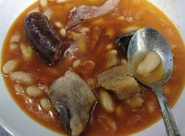 fabada asturiana en de rechupete