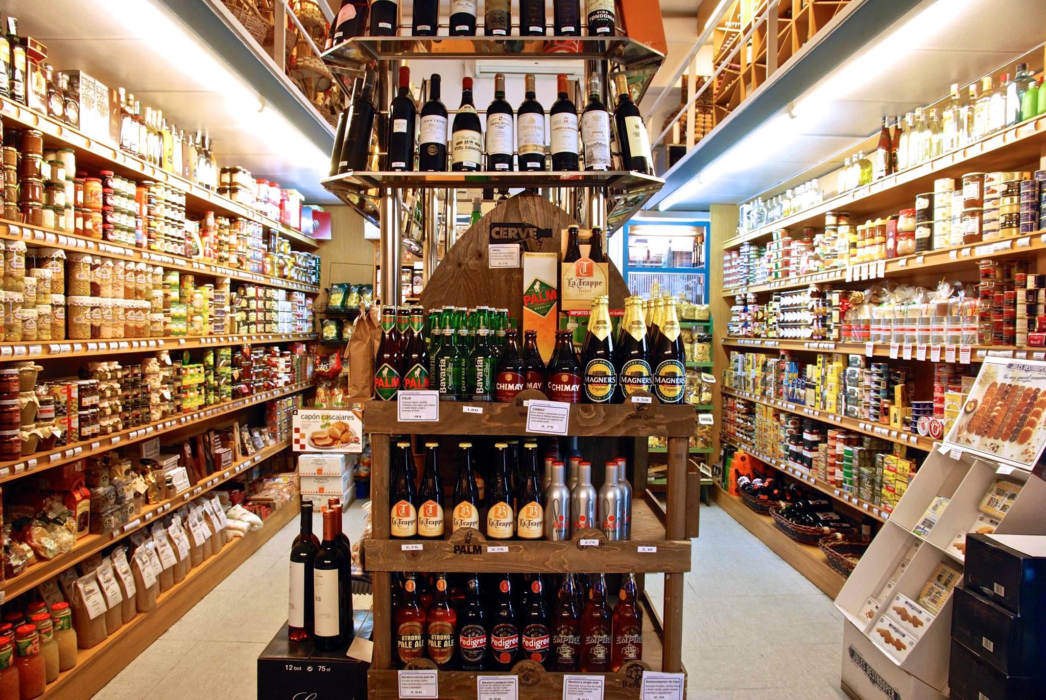 Tiendas gourmet en Zaragoza