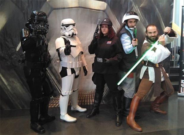 star wars spanish garrison en el salon del comic