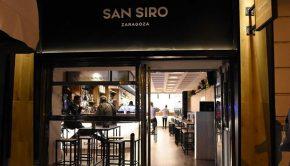 Cafetería San Siro terraza de invierno en Zaragoza
