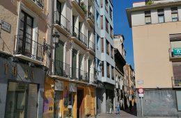 Calle San Pablo en el Casco Historico de Zaragoza