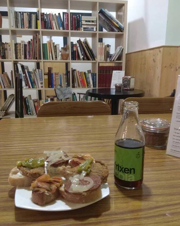 Galletas de Jenjibre en el Bar Cafetería Vegano La Piparra