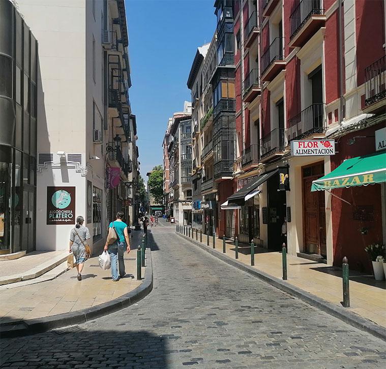 Calle Méndez Núñez de Zaragoza
