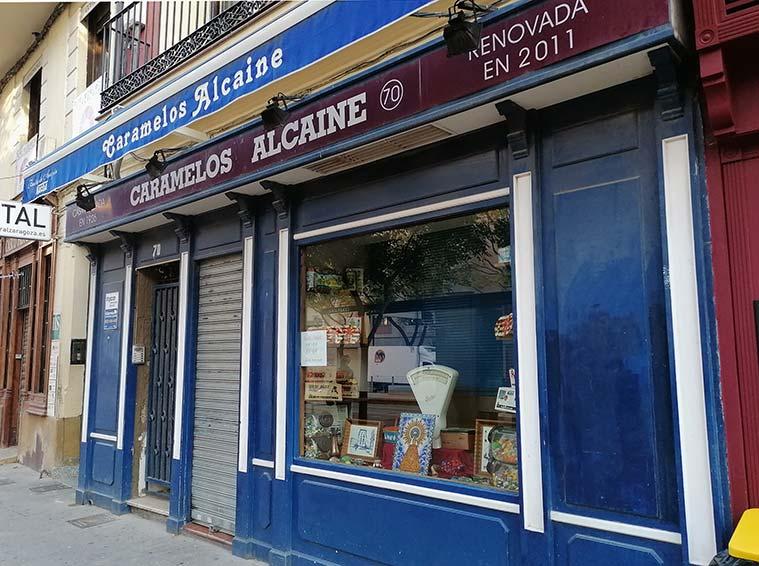 Caramelos Alcaine Avenida Cesar Augusto Zaragoza