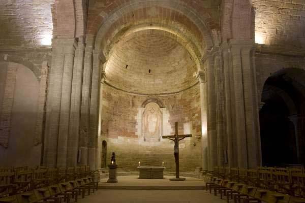 interior del Monasterio de Sigena
