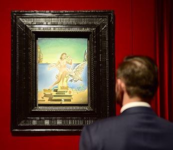 """Exposición """"Dalí atómico"""", en Caixaforum Zaragoza"""