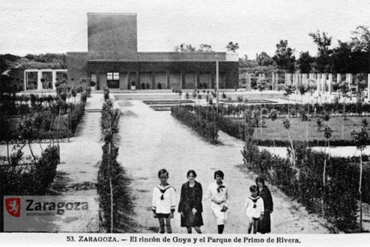 El Rincón de Goya en 1929