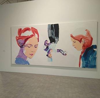 """Exposición """"Las raíces del vuelo"""" de Lorena Domingo en el IAACC Pablo Serrano"""