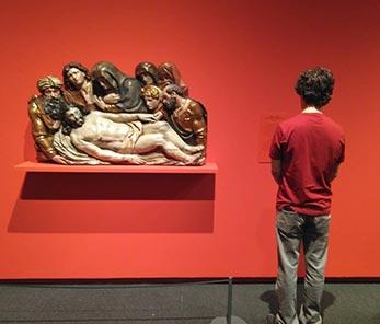 Exposicion Poeticas de la emocion en Caixaforum Zaragoza