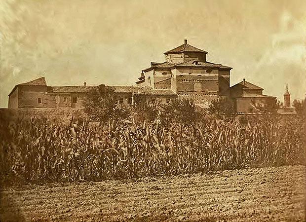 Fotografía del Convento de San José de las Carmelitas Descalzos durante su servicio como prisión