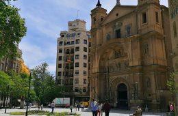 Plaza de Santa Engracia en Zaragoza