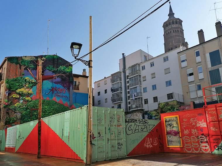 Solar del Circo Social en la calle Las Armas