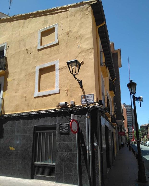 casa tradicional siglo XVIII calle predicadores zaragoza