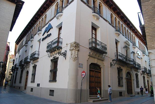Caserón de San Voto (Actual Sede de Bantierra en Zaragoza)