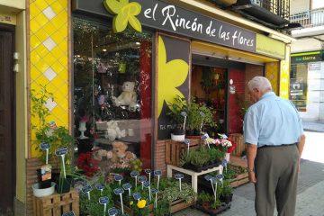 El Rincón de las Flores (el local donde comenzó Frutos Secos El Rincón)