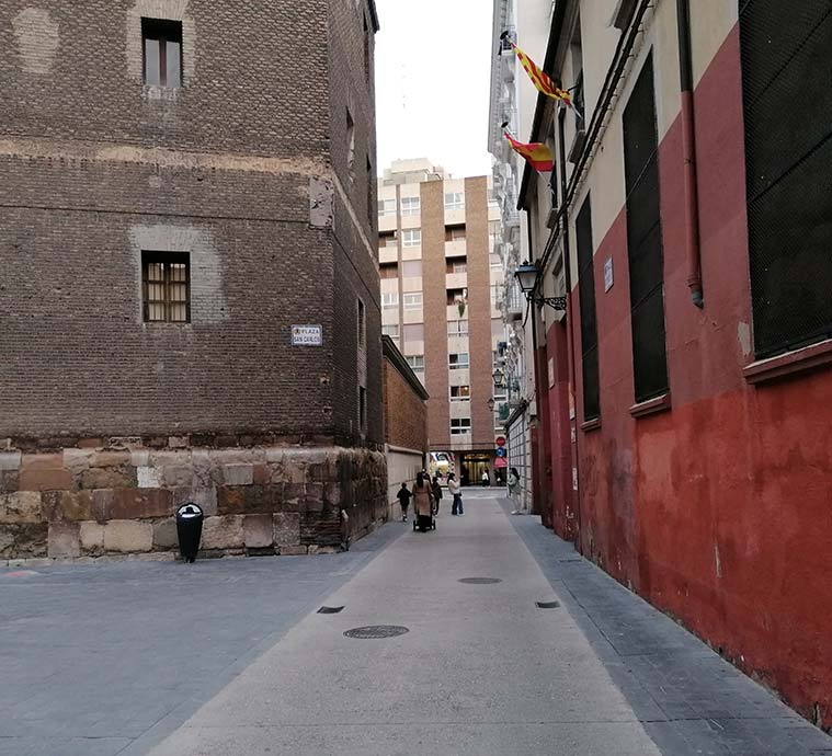 La plaza de San Carlos era la zona donde los rabinos y las familias judías adineradas solían vivir