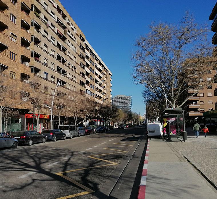 Avenida Pablo Gargallo de Zaragoza