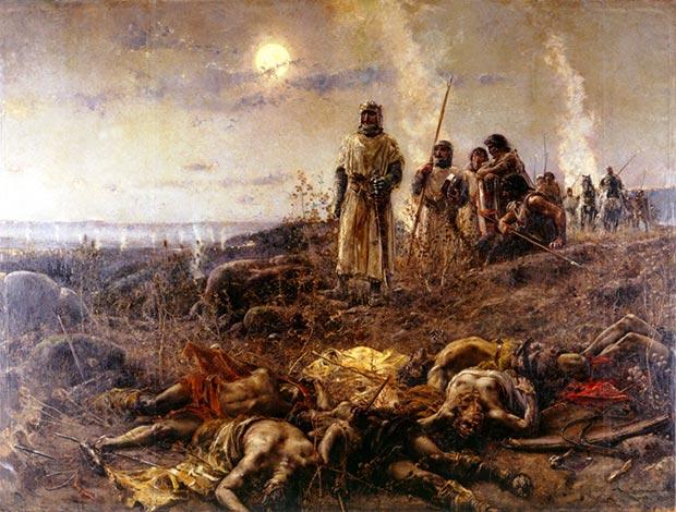 El Barranco de la Muerte. Agustín Salinas, 1892. Palacio de Sástago, Diputación de Zaragoza