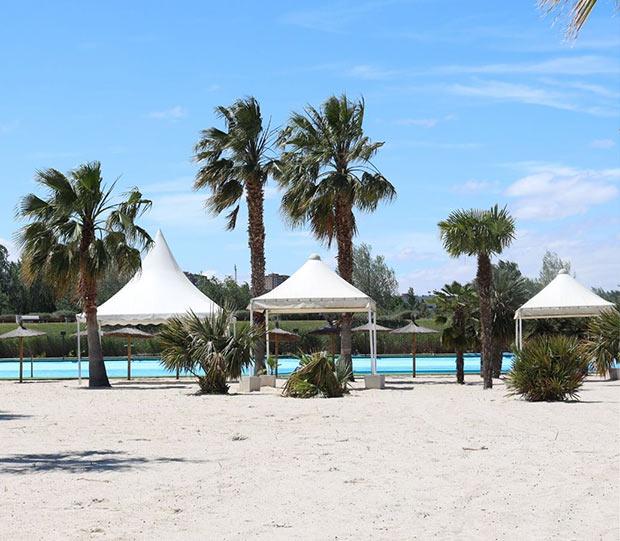 Las Playas de Zaragoza