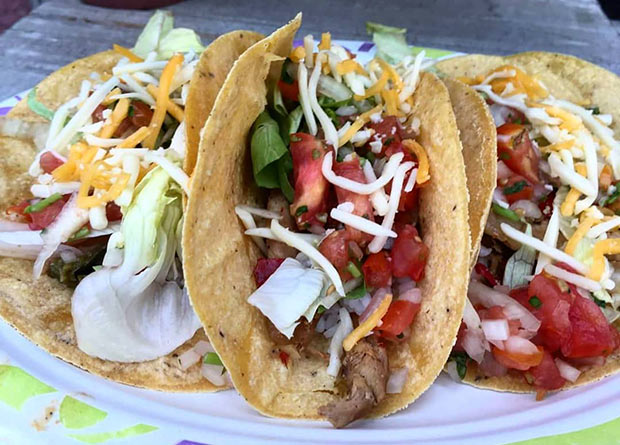 Tacos en el Ebro Food el Festival la Food Trucks de Zaragoza