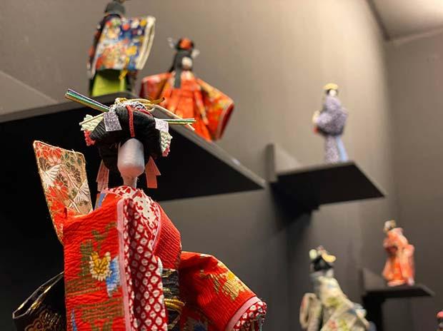 exposición en el museo escuela de Origami de Zaragoza
