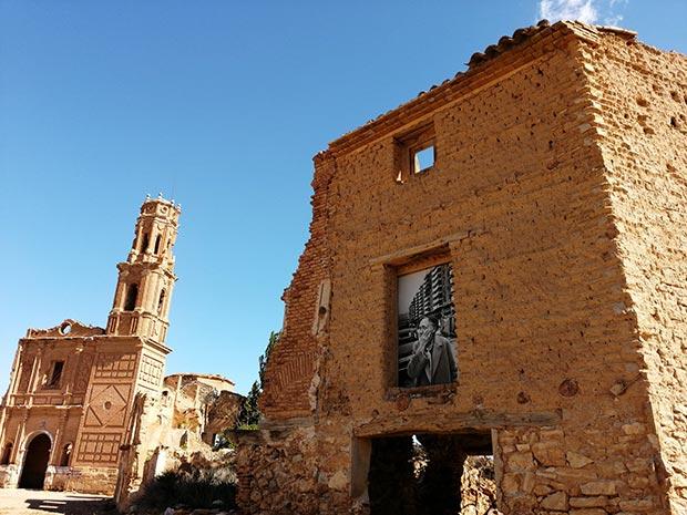 ruinas del pueblo viejo de belchite
