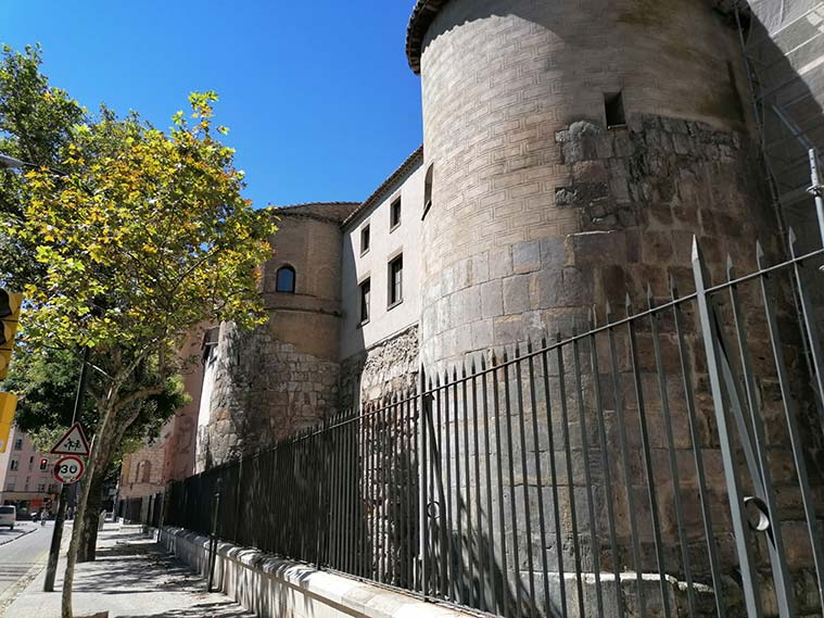 Torreones integrados en el Convento del Santo Sepulcro