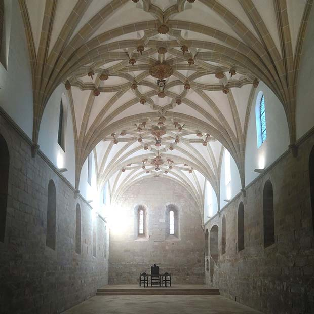 comedor del monasterio de veruela