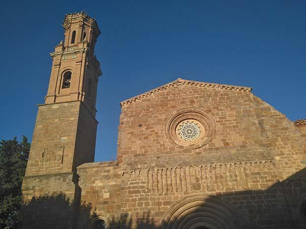 entrada a la capilla del monasterio de veruela