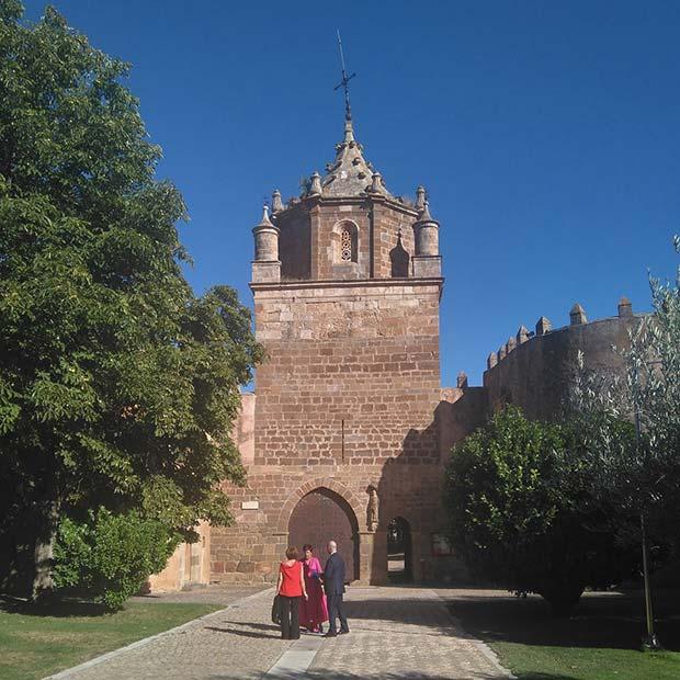 entrada del monasterio de veruela