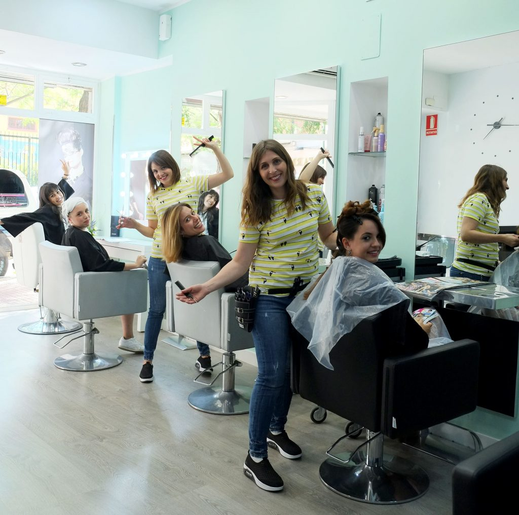manhattan estilistas peluqueria en las fuentes