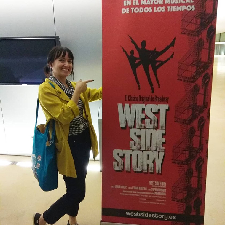 zaragoza guia en west side story